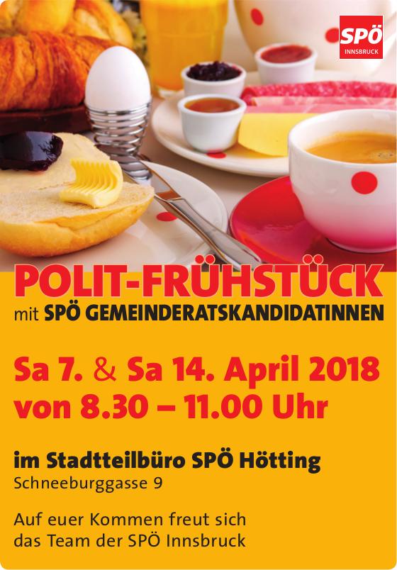 Polit-Frühstück mit SPÖ Gemeinderatskandidat*Innen