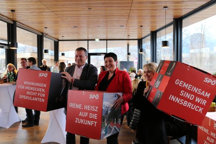 SPÖ Innsbruck startet in die heiszePhase
