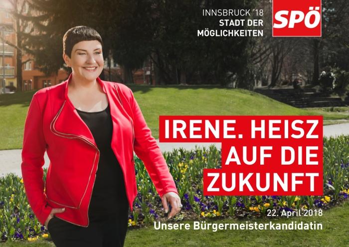 Wahlkampfabschluss mit IreneHeisz