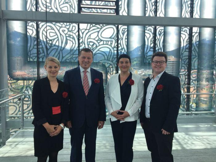 Innsbruck: Neues SPÖ-Teamangelobt